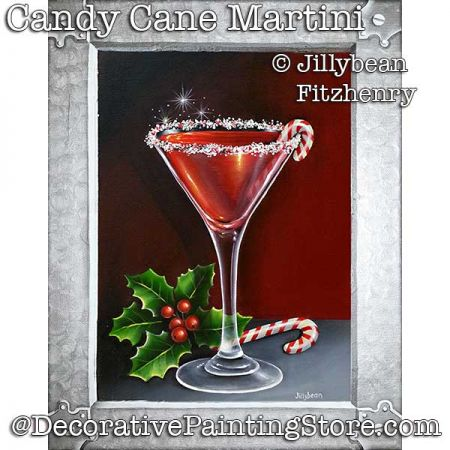 Candy Cane Martini DOWNLOAD - Jillybean Fitzhenry
