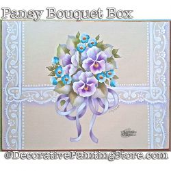 Pansy Bouquet Box Download - Jillybean Fitzhenry