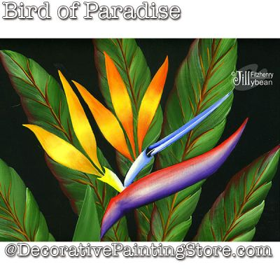 Bird of Paradise Download - Jillybean Fitzhenry