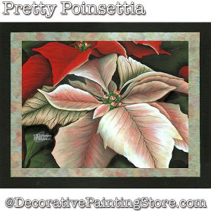 Pretty Poinsettia DOWNLOAD - Jillybean Fitzhenry