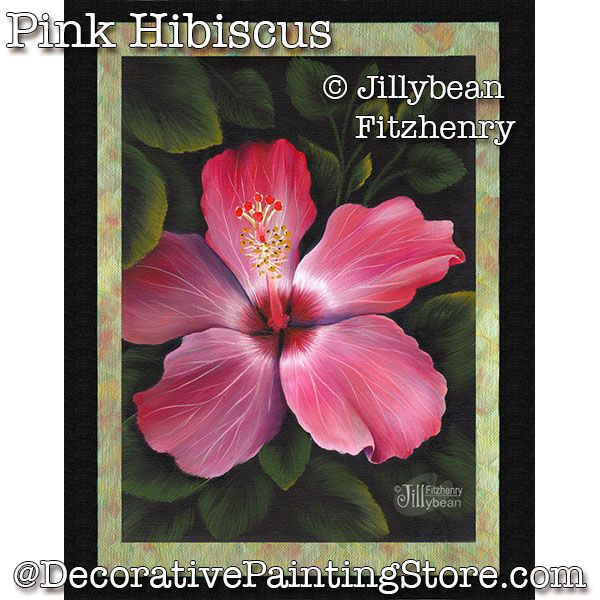 Pink Hibiscus PDF Download - Jillybean Fitzhenry