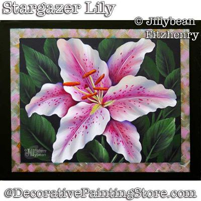 Stargazer Lily DOWNLOAD - Jillybean Fitzhenry