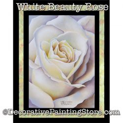 White Beauty Rose DOWNLOAD - Jillybean Fitzhenry