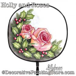 Roses and Holly Download - Jillybean Fitzhenry