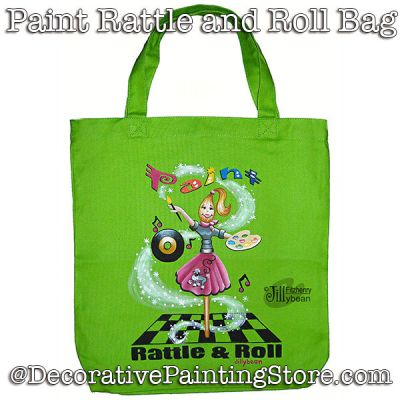 Paint Rattle and Roll Bag Download - Jillybean Fitzhenry