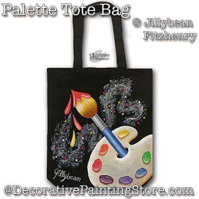 Palette Totebag PDF Download - Jillybean Fitzhenry