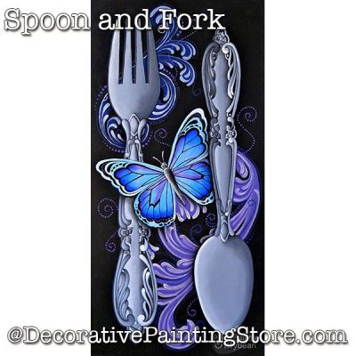 Spoon and Fork Download - Jillybean Fitzhenry