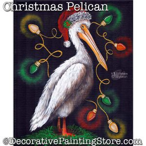 Christmas Pelican PDF Download - Jillybean Fitzhenry