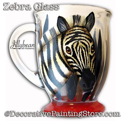 Zebra Glass Download - Jillybean Fitzhenry
