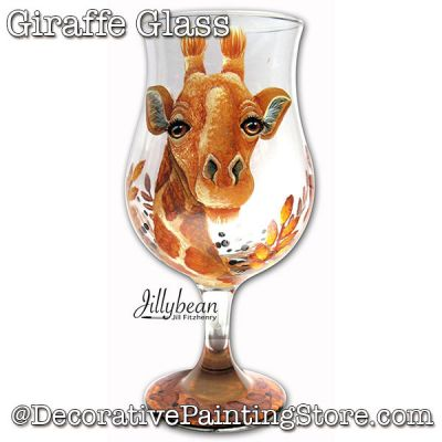 Giraffe Glass Download - Jillybean Fitzhenry