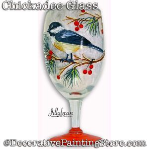 Chickadee Glass Download - Jillybean Fitzhenry