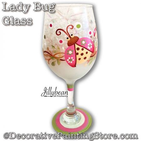 Lady Bug Glass Download - Jillybean Fitzhenry