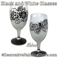 Black and White Glasses Download - Jillybean Fitzhenry