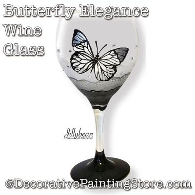 Butterfly Elegance Glass Download - Jillybean Fitzhenry