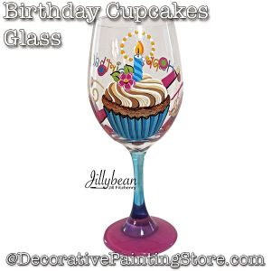 Birthday Cupcakes Glass Download - Jillybean Fitzhenry
