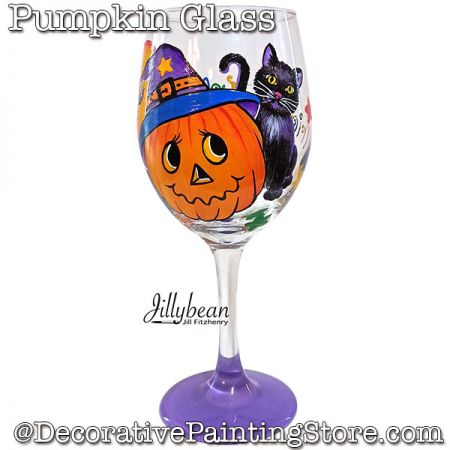 Pumpkin Glass Download - Jillybean Fitzhenry