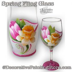 Spring Fling Glass Download - Jillybean Fitzhenry