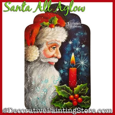 Santa All Aglow Download - Jillybean Fitzhenry