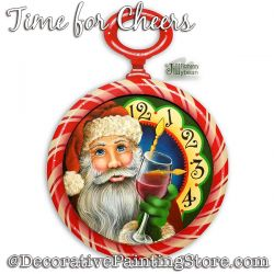 Time for Cheers Santa Download - Jillybean Fitzhenry