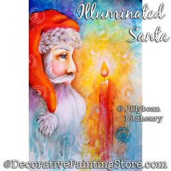 Illuminated Santa Download - Jillybean Fitzhenry