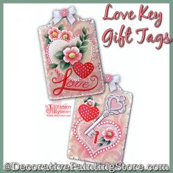 Love Key Gift Tags Download - Jillybean Fitzhenry