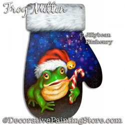 Frog Mitten Download - Jillybean Fitzhenry