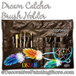 Dream Catcher Brush Holder Download - Jillybean Fitzhenry