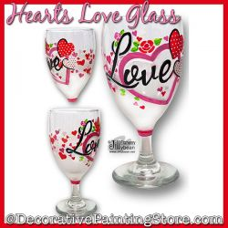 Hearts Love Glass Download - Jillybean Fitzhenry