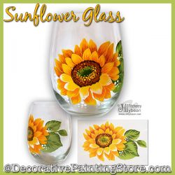 Sunflower Glass Download - Jillybean Fitzhenry