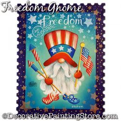 Freedom Gnome (Uncle Sam) Download - Jillybean Fitzhenry
