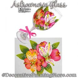 Alstroemeria Glass Download - Jillybean Fitzhenry