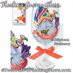 Floating Gnome Glass Download - Jillybean Fitzhenry