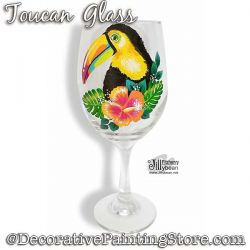 Toucan Glass Download - Jillybean Fitzhenry
