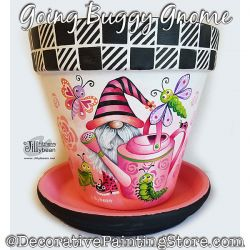 Going Buggy Gnome Painting Pattern PDF Download - Jillybean Fitzhenry