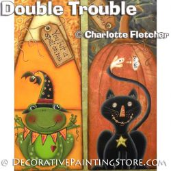 Double Trouble e-Pattern - Charlotte Fletcher - PDF DOWNLOAD