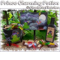 Prince Charming Potion e-Pattern - Charlotte Fletcher - PDF DOWNLOAD