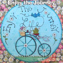Enjoy the Journey e-Pattern - Charlotte Fletcher - PDF DOWNLOAD