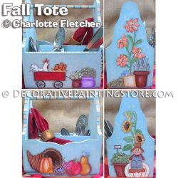 Fall Tote e-Pattern - Charlotte Fletcher - PDF DOWNLOAD