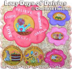 Lazy Days of Daisies e-Pattern - Charlotte Fletcher - PDF DOWNLOAD