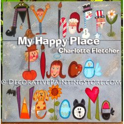 My Happy Place e-Pattern - Charlotte Fletcher - PDF DOWNLOAD