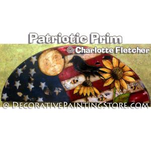Patriotic Prim e-Pattern - Charlotte Fletcher - PDF DOWNLOAD