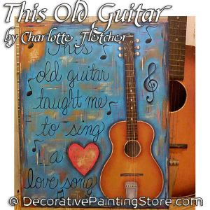 This Old Guitar e-Pattern - Charlotte Fletcher - PDF DOWNLOAD