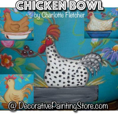 Chicken Bowl e-Pattern - Charlotte Fletcher - PDF DOWNLOAD