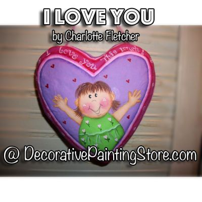 I Love You This Much e-Pattern - Charlotte Fletcher - PDF DOWNLOAD