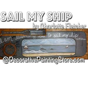 Sail My Ship e-Pattern - Charlotte Fletcher - PDF DOWNLOAD