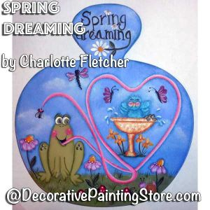 Spring Dreaming e-Pattern - Charlotte Fletcher - PDF DOWNLOAD