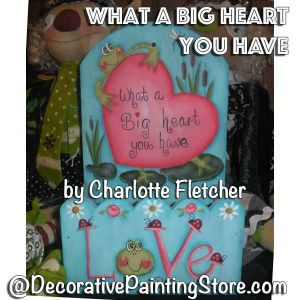 What a Big Heart You Have e-Pattern - Charlotte Fletcher - PDF DOWNLOAD