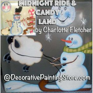 Midnight Ride and Candy Land Glass Blocks e-Pattern - Charlotte Fletcher - PDF DOWNLOAD