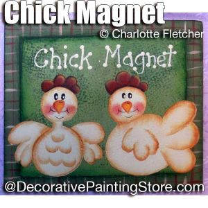 Chick Magnet and More e-Pattern - Charlotte Fletcher - PDF DOWNLOAD