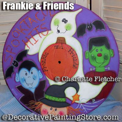 Frankie & Friends e-Pattern - Charlotte Fletcher - PDF DOWNLOAD